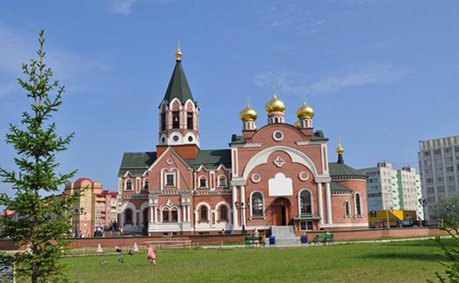 Церковь в честь Покрова Божией Матери