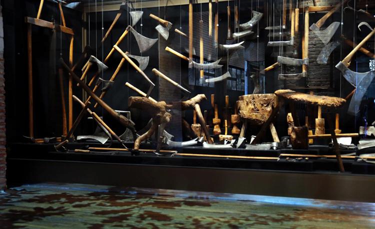 Внутри музея инструментов и рабочей мысли