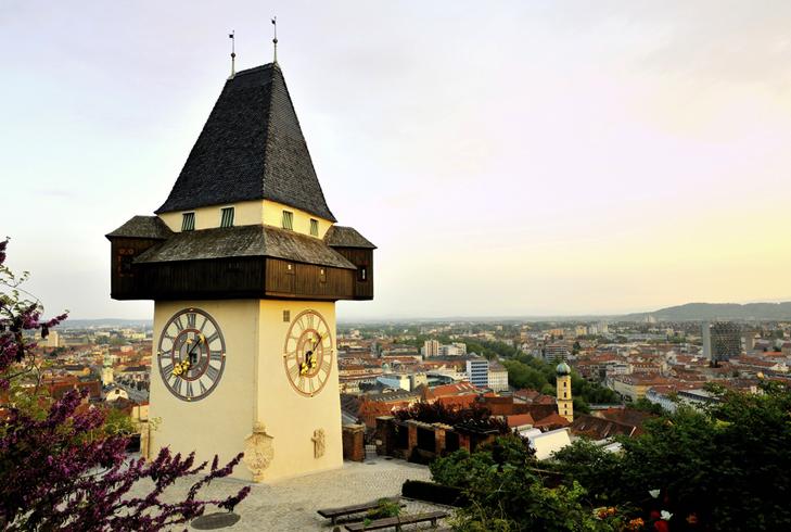 Часовая башня Граца