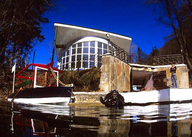 Дайвинг-центр на Голубом озере