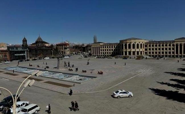 Площадь Свободы Гюмри
