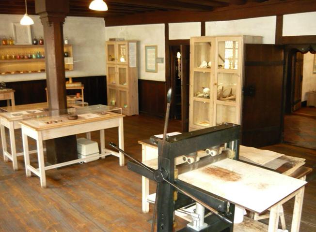 Внутри дома музея Дюрера