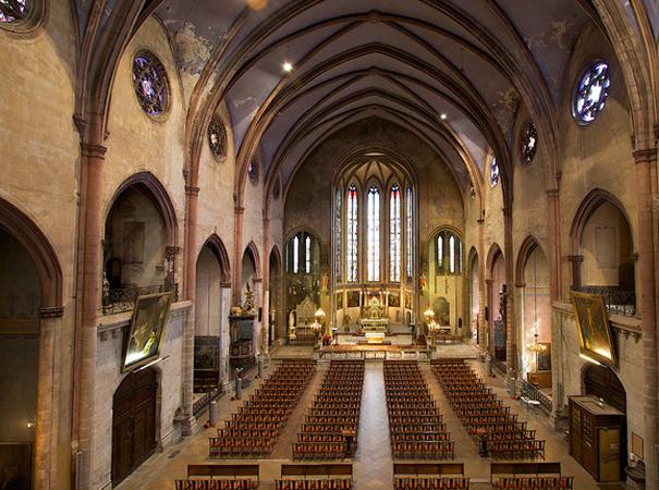 Внутри церкви Святого Винсента