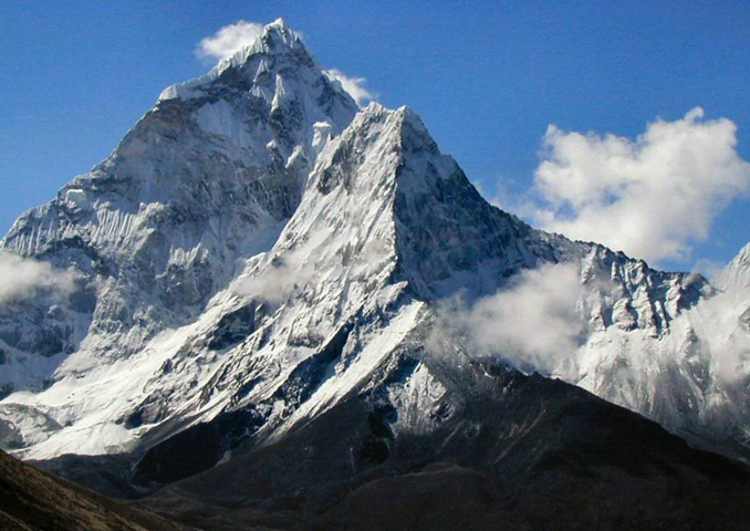 Горная вершина Эверест