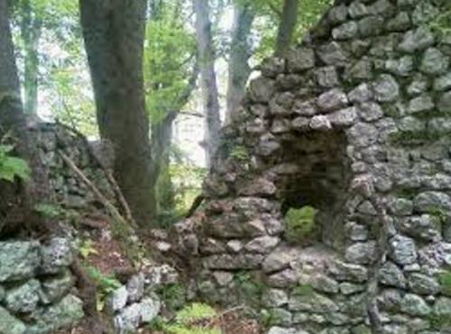 Руины замка Федераун