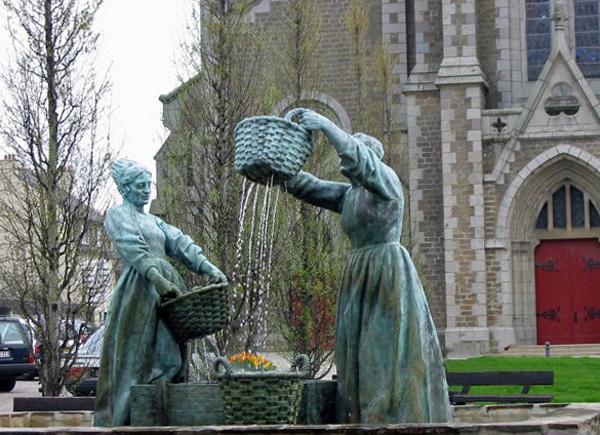 Памятник «Промывальщицы устриц»