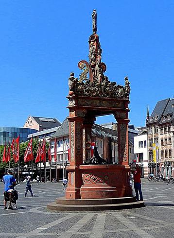 Рыночный фонтан