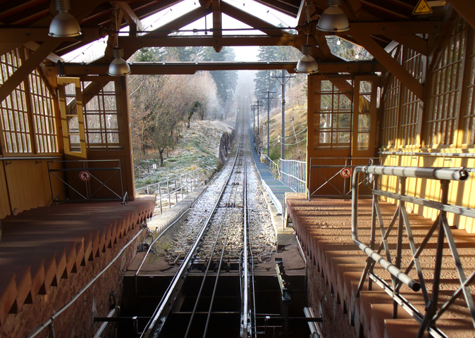 Фуникулер Königstuhl Bergbahn