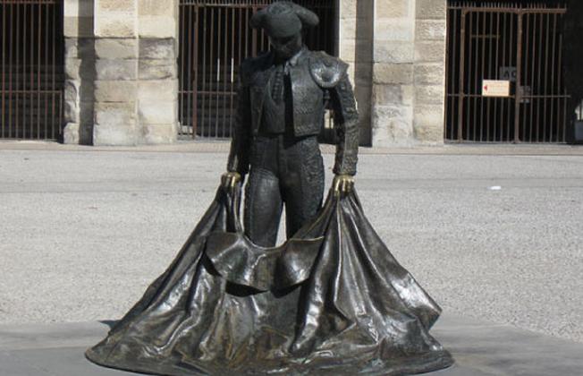 Памятник тореадору