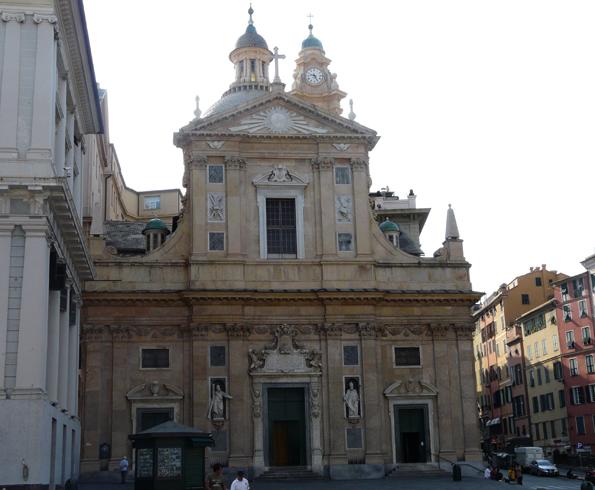 Иезуитская церковь святых Амвросия и Андрея