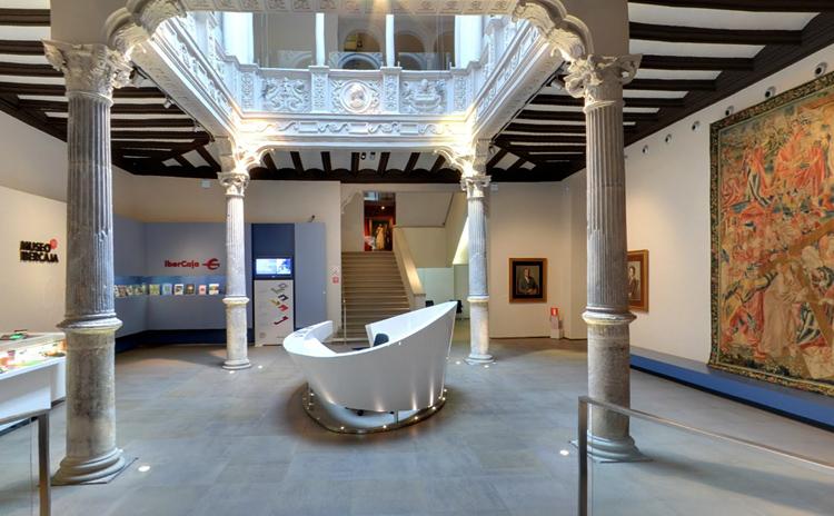 Внутри музея Иберкая Камон Аснара