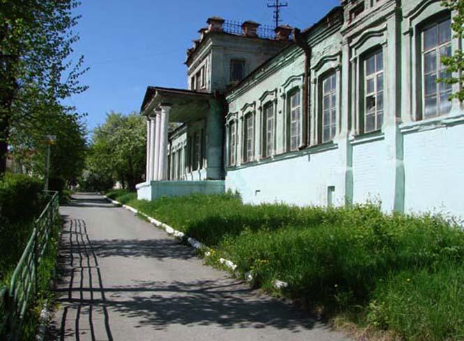 Здание старого заводоуправления