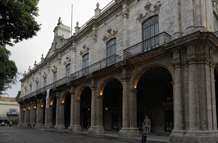 Дворец Лос-Капитанес Генералес