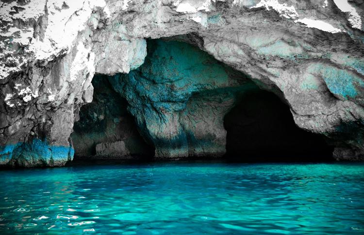 """Пещера """"Голубой грот"""""""