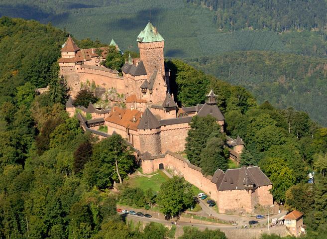 Замок Haut-Koenigsbourg