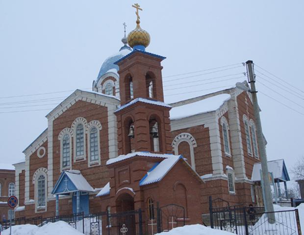 Храм Казанских святителей
