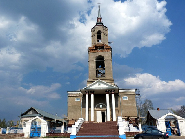 Храм Иконы Божьей Матери Казанской