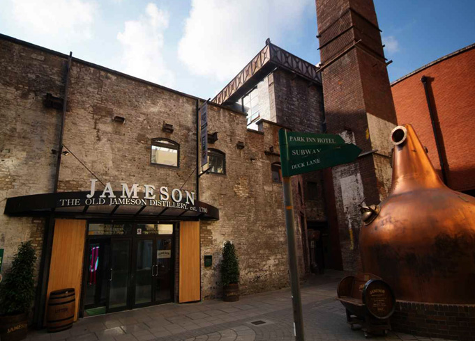 Музей- вискокурня Old Jameson Distillery