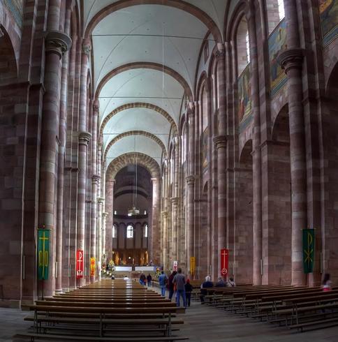 Внутри императорского собора