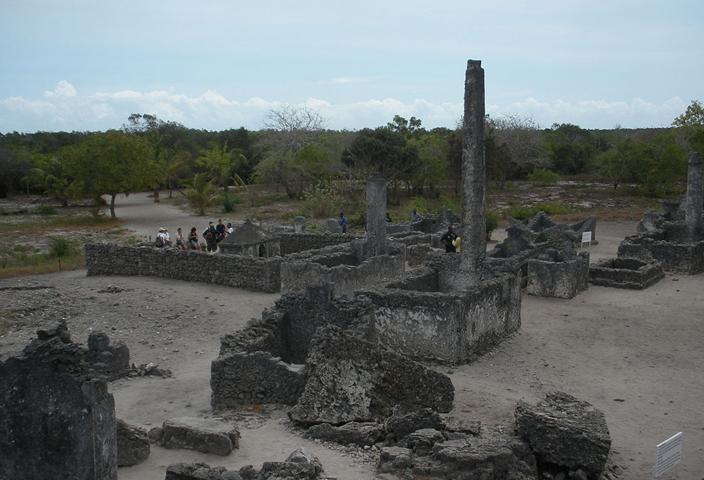 Руины Каоле