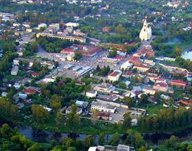 Город Кашин Тверской области