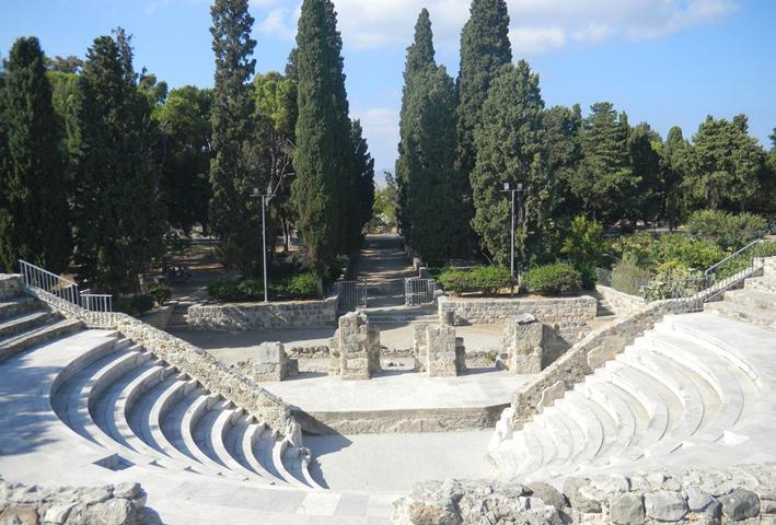 Римский амфитеатр Одеон