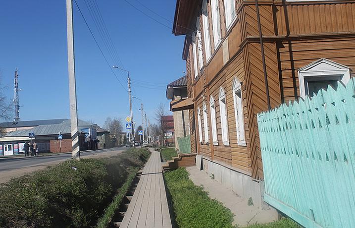 Деревянные тротуары — «мостки»