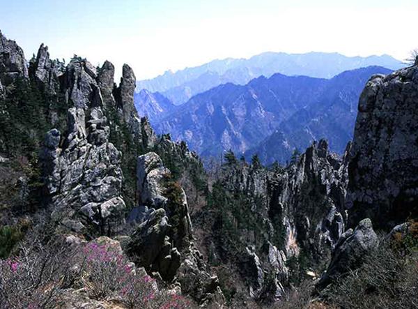 Горный хребет Мехян