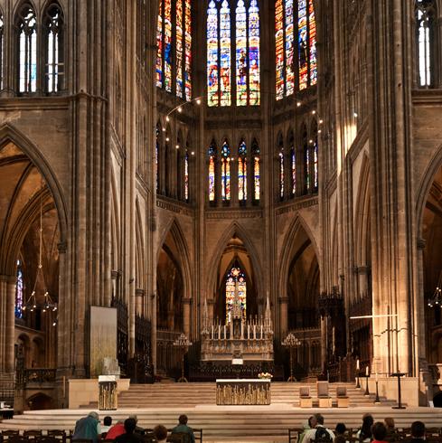 Внутри Мецского собора