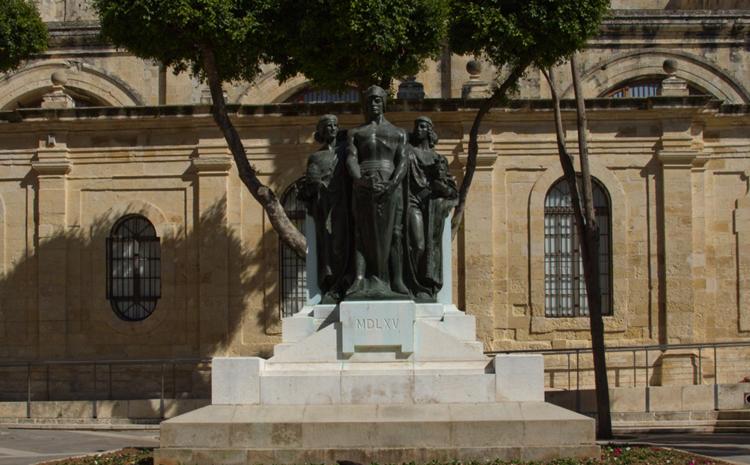Монумент на площади Великой Осады