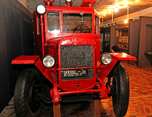 В музее пожарной охраны
