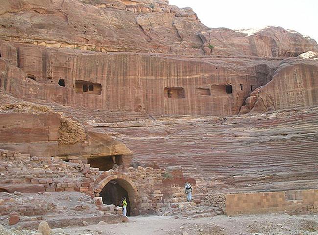 Древний набатейский театр