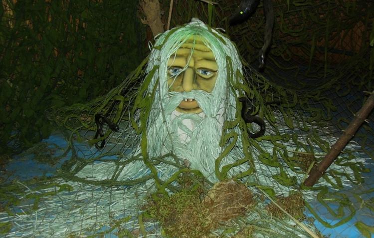 Внутри музея мифологии и леса