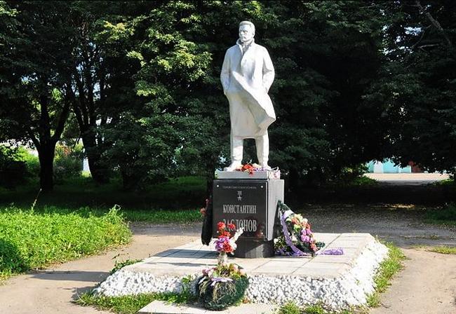Памятник Заслонову