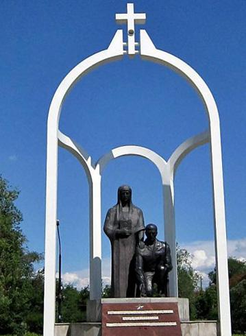 Памятник «Сыновьям Хакасии, погибшим в локальных войнах»