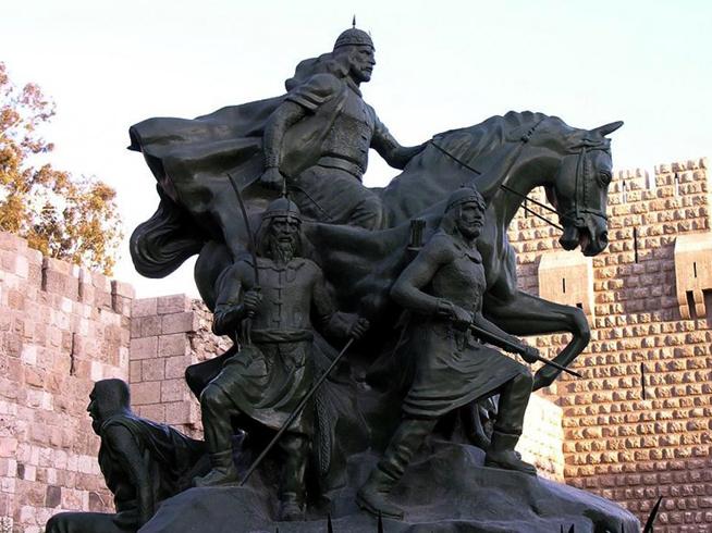 Памятник Салах ад-Дину
