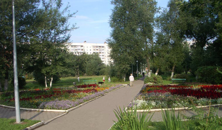 Городской парк г. Реутов