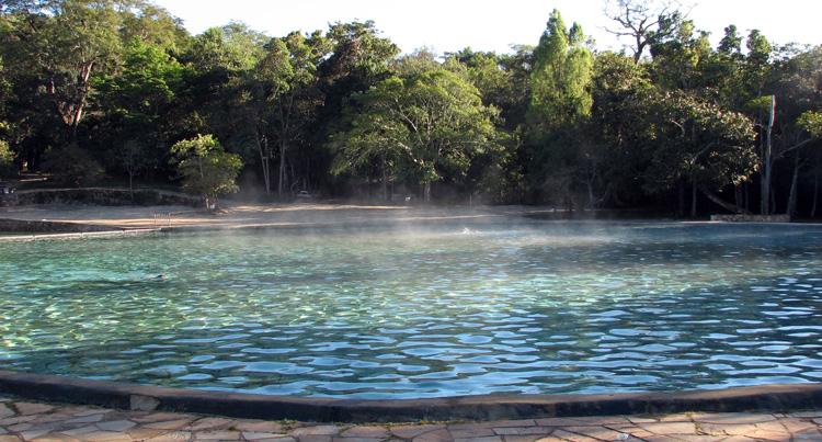 Национальный парк Бразилии Agua Mineral