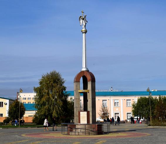 Памятник первопоселенцам
