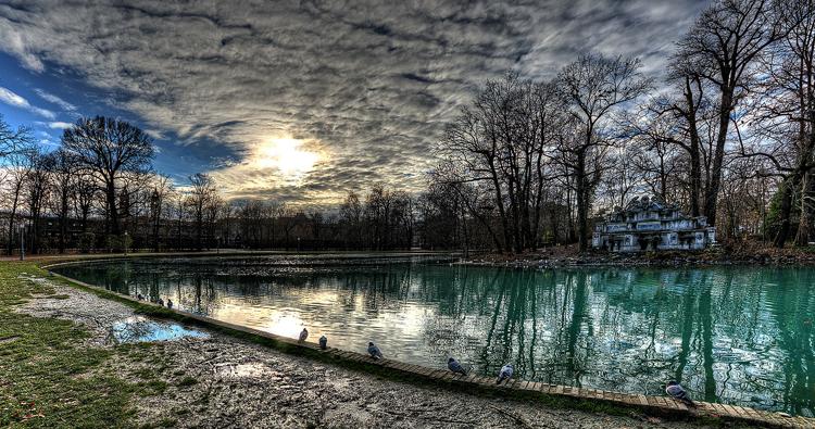 Парк «Parco Ducale»