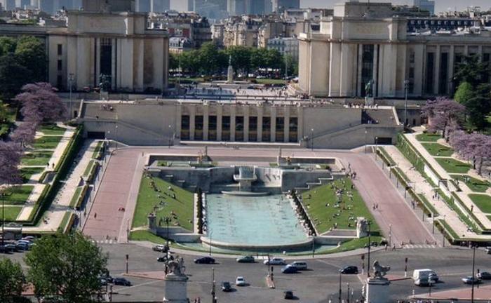 Площадь Трокадеро