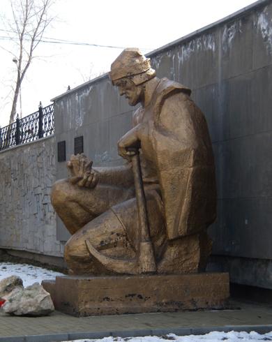 Памятник Ерофею Маркову