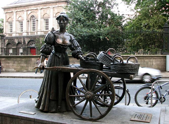Памятник Молли Малоун