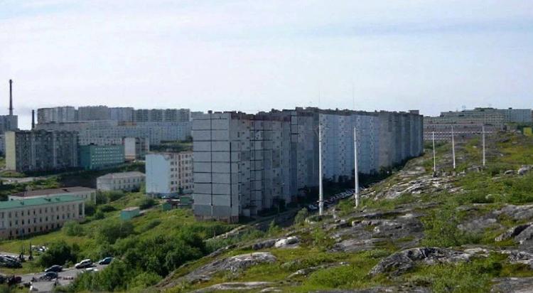 Город Полярный