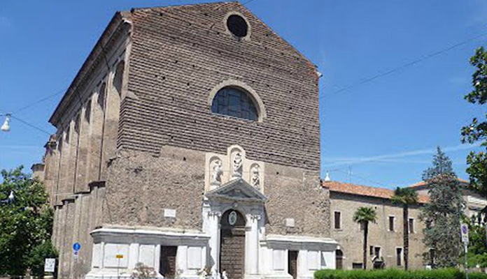 Церковь Basilica Santa Maria del Carmine