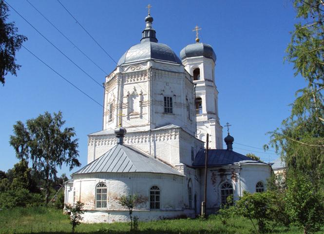 Храм «Казанской Божией Матери» Мариинского Посада
