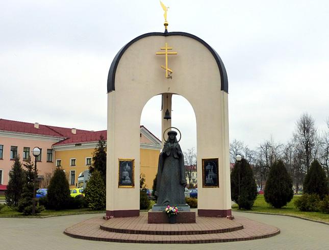 Скульптура Софии Слуцкой