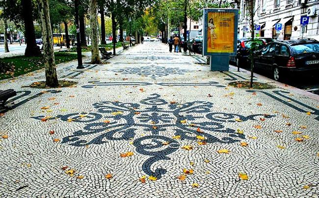 Лиссабонские тротуары