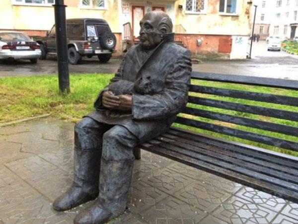 Скульптура Козина