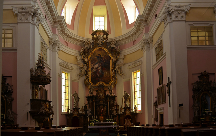 Внутри костла святого Якова